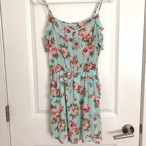 Aritzia | Talula Floral Ruffle Dress